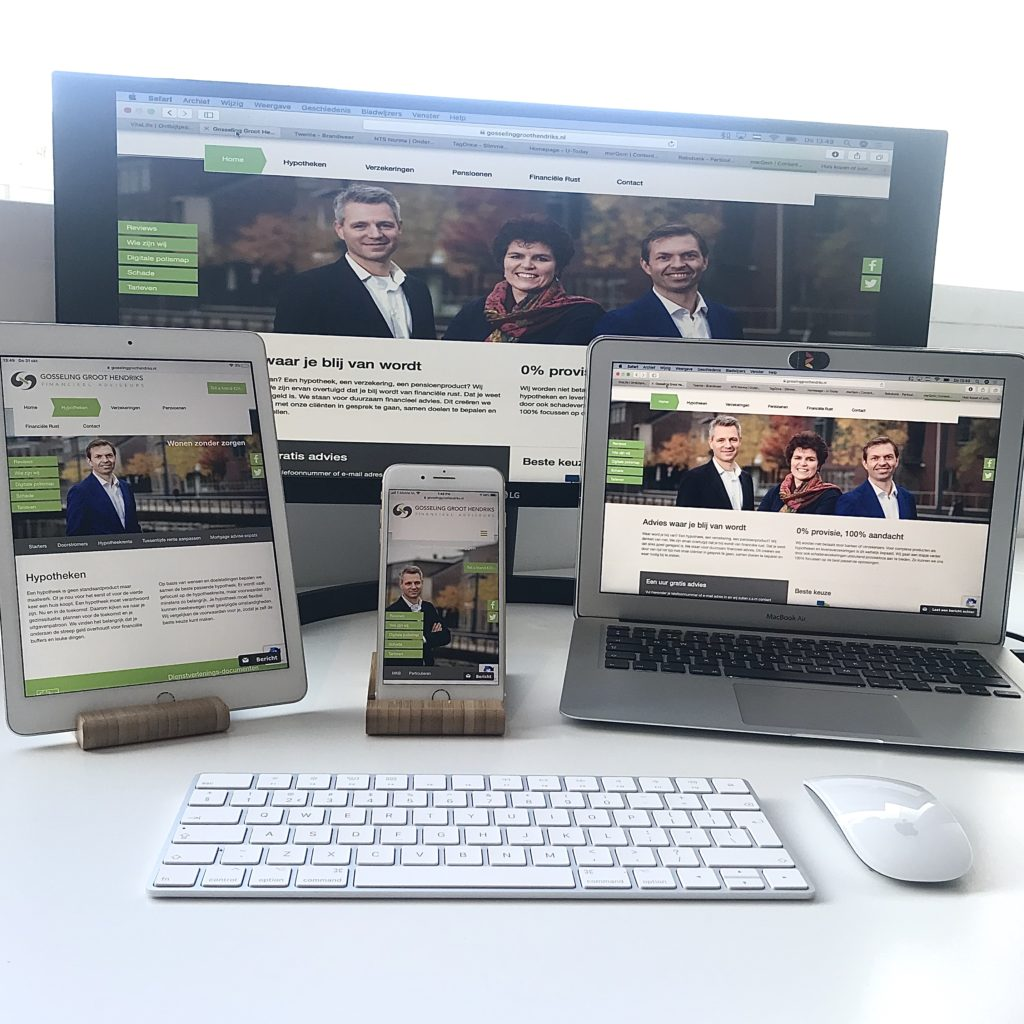 Content Marketing strategy for Gosseling Groot Hendriks