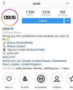 asos_instagram_bio_for_business