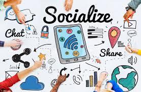 socialize social media