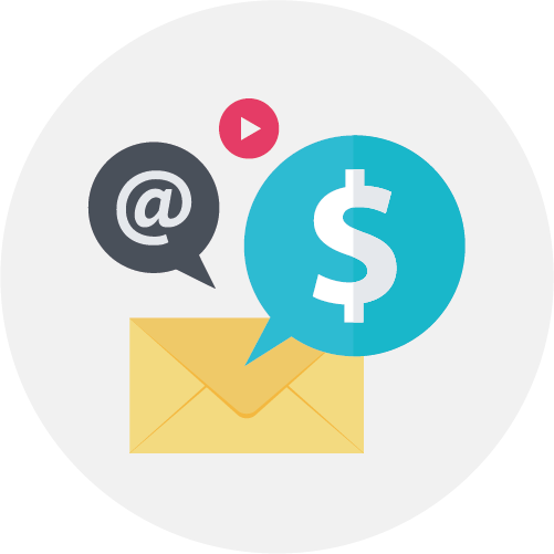 Email marketing icoon Icon